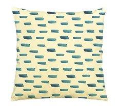Vietsbay Watercolor blue dashs Printed Cotton Decorative Pillows Case VPLC - $15.99