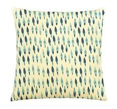 Vietsbay Watercolor blue rhombus-4 Printed Cotton Decorative Pillows Cas... - $15.99