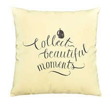 Vietsbay Collect Beautiful Moment Printed Cotton Decorative Pillows Case... - $15.99