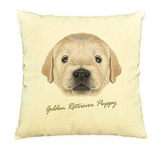 Vietsbay Portrait of Golden Retriever Puppy Printed Cotton Pillows Case ... - $15.99