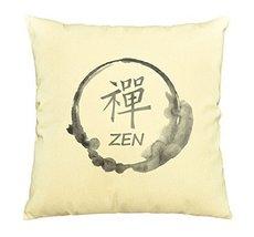 Vietsbay Zen Stamp Printed Cotton Decorative Pillows Cover Cushion Case ... - €13,99 EUR