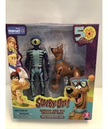 Scooby-Doo 50th Anniversary Action Figure Set Scooby And The Skeleton Ma... - $13.95