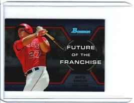 2013 Bowman Chrome Draft Mike Trout Future of the Franchise - $4.95