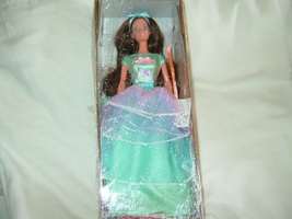 Avon Barbie doll NR from box Spring Tea Party new  #1 green dress collec... - $14.50
