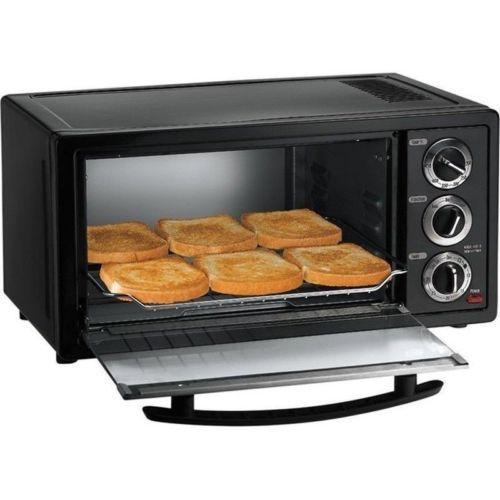 Countertop 6 Slice Toaster Oven & Broiler, Stainless Steel Kitchen ...