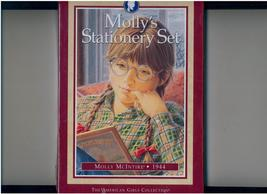 MOLLY'S STATIONERY SET - Amer. Girl - retired - + Postcards - $18.00