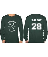 Talbot 28 Devenford Prep Lacrosse Teen wolf Longsleeve Men - $25.00+
