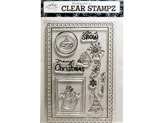Hampton Art Junkin Holiday Clear Stamp Set #CS4982