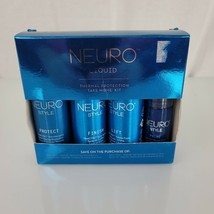 Paul Mitchell Neuro Liquid Thermal Protection Protect Finish Lift Style Set - $29.20