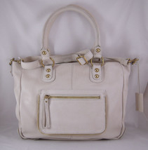 Linea Pelle Dylan Crossbody Tote in Sand NWT - $382.24