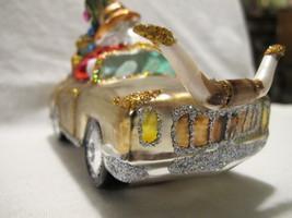 South West Texas Longhorn Santa car cactus guitar Ornament *Has Been Rep... - $44.99