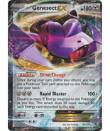 Genesect EX 64/124 Ultra Rare Holo Fates Collid... - $3.99