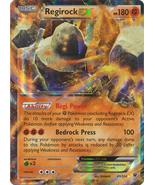 Regirock EX 43/124 Holo Ultra Rare Fates Collid... - $8.89
