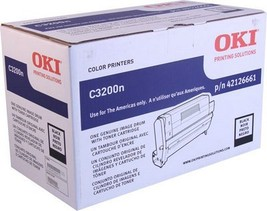 Oki C3200 Black Image Drum Type C6 (Ships w One... - $113.12