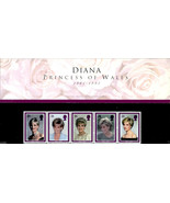 ROYAL MAIL MINT STAMPS DIANA PRINCESS OF WALES 1961-1997 PRESENTATION PA... - $39.81