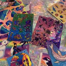90s Lisa Frank Stickers Stationery Lot Dolphins Max Whale Penguins Roary Seal image 9