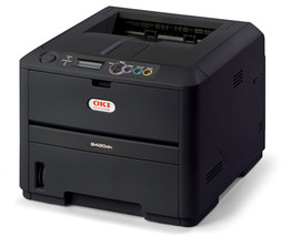 Okidata B420dn LED Printer Black 91642903 - $427.12