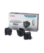 Xerox Phaser 8560 Black Colorstix 3 Sticks 108R... - $84.88
