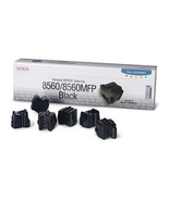 Xerox Phaser 8560 Black Colorstix 6 Sticks 108R... - $131.35