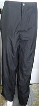 Ralph Lauren Rain Pants Black Sweat Workout 12 Polo Elastic Waist NWT  - $18.68