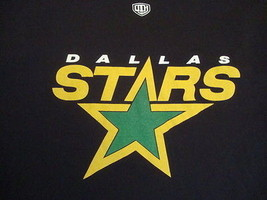 NHL Dallas Stars Throwback Old Time Hockey Apparel T Shirt XL - $15.83