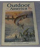 Vintage Outdoor America Magazine July 1925 - $16.95