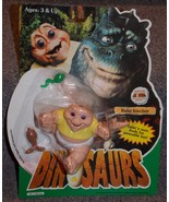 Vintage 1990s Hasbro Dinosaurs Baby Sinclair Figure New In The Package  - $54.99