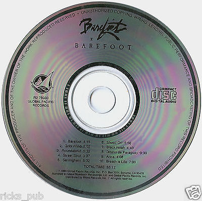 Barefoot (Dancing) CD w Steve Kindler ● Latin, Carribean & African aerobic Beats