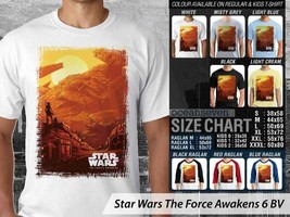 T shirt StarWars TheForce Awakens Many Color & Design Option - $10.99+