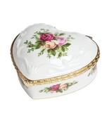 Porcelain Heart Shaped Jewelry Box New Musical Girl Women Jewelry Storage - €31,25 EUR
