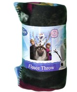 """Disney's Frozen """"Out in The Cold"""" Fleece Throw,... - $20.00"""