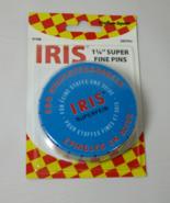 Iris Super Fine Pins 1 1/4 inch 500 pins - $9.59
