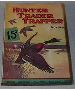 Vintage hunter Trader Trapper Magazine November 1936 - $18.00