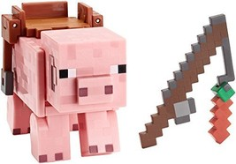 Minecraft Saddled Pig with Launching Pork Chop Figure - Series 5 - $44.50