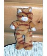 "Build-A-Bear Golden Tiger Striped Kitty Cat 7"" Take-Me-Along Pocket Pal - $6.49"