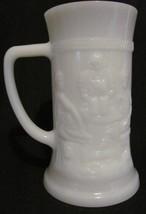 Vintage Federal White Milk Glass Beer Cold Hot Coffee Cup Mug Tavern Ste... - $4.43