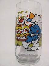 BAKER Smurf Vintage Peyo 1983 Wallace Berrie & Co Kitchen Water Drinking... - $3.44
