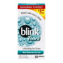 Blink Tears Lubricating Eye Drops Mild-Moderate Dry Eye, 1 fl oz - $18.69