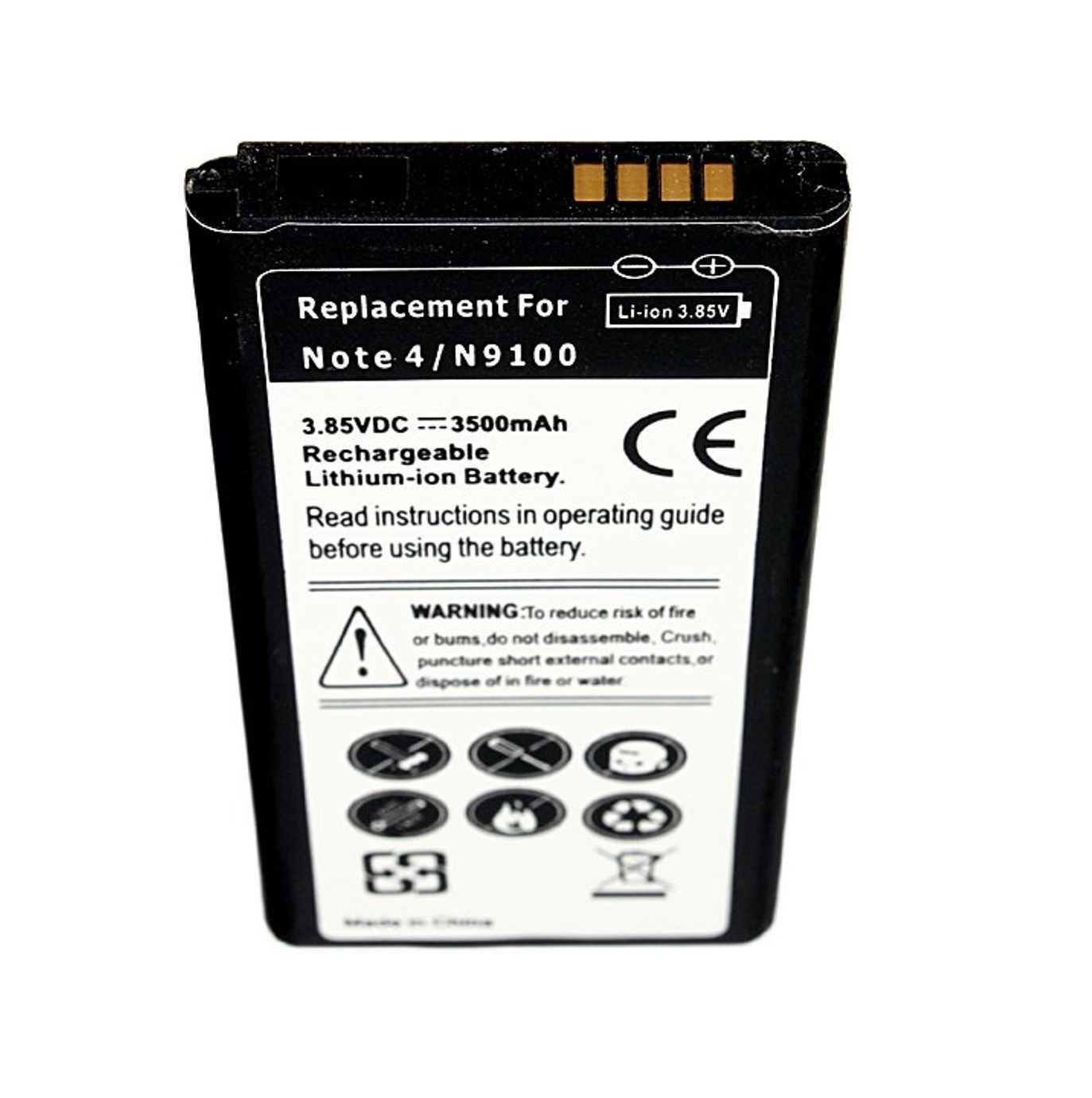 Samsung Galaxy Note 4 SM-N910T T-Mobile Replacement Battery Slim Backup Spare US