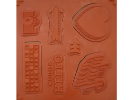 Stampin' Up! Peachy Keen Rubber Stamp Set #133113 image 2