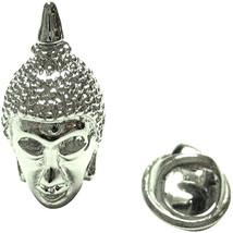 buddah head Design  / tie pin,lapel pin, badge in gift box, cards, tieclip, tie