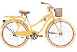 26 Huffy Women's Nel Lusso Cruiser Bike, Banana - $158.65