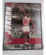Vintage Michael Jordan Poster - By Star Line From 1990 -Black and White ... - $69.00