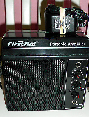 first act portable guitar amp amplifier with shoulder strap model mma 55 electric guitar. Black Bedroom Furniture Sets. Home Design Ideas