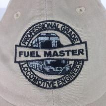 Fuel Master Baseball Hat Professional Grade Locomotive Engineer Train Da... - $12.99