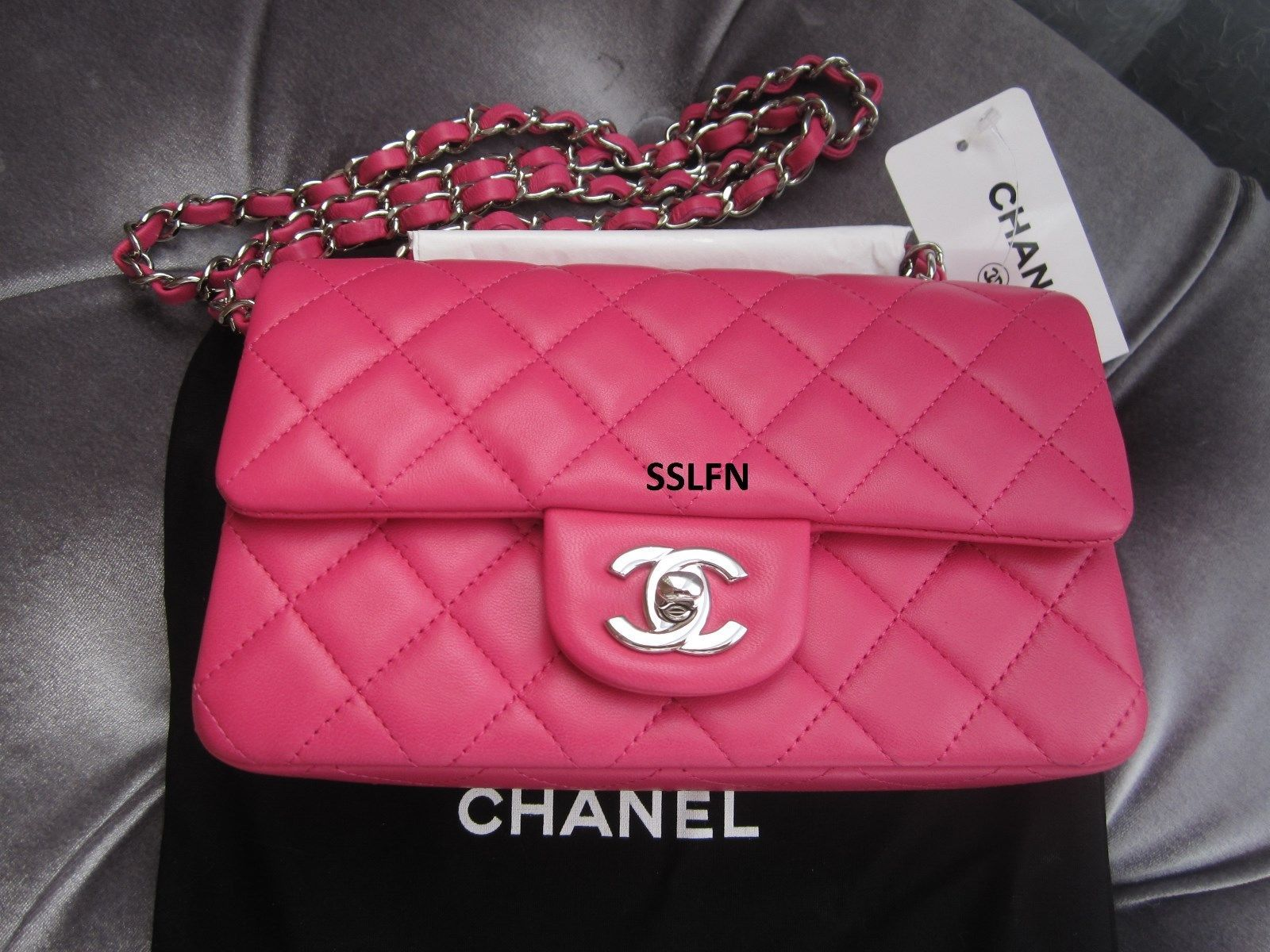c0ac237f7eea Brand New Chanel 14S Hot Pink Fuchsia and 50 similar items. S l1600