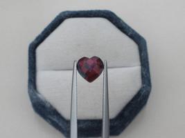 Crimson Red Topaz Heart Cushion Gem 8mm - $12.99