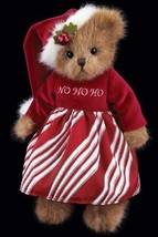 "Bearington Bears ""Missy Claus"" 10"" Collector Bear- Sku #173174 - 2012 - $29.99"