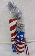 Patriotic 4th of July Fireworks Table Decor Decoration Centerpiece - €21,41 EUR