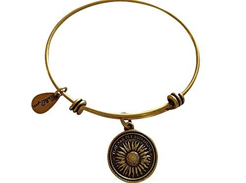 Bella Ryann Gold You Are My Sunshine Charm Bangle Bracelet